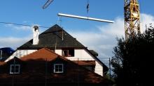 Speicherausbau: Dach neues Treppenhaus