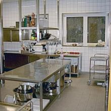 Moderne Großküche